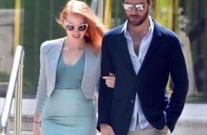 Cannes 2013 : Jessica Chastain parfaite et lumineuse au bras de son chéri