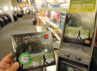 Carla Bruni : 3e du top album !