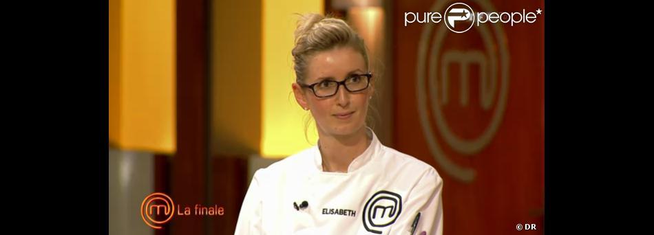 Elisabeth dans Masterchef 2 le jeudi 3 novembre 2011 sur TF1