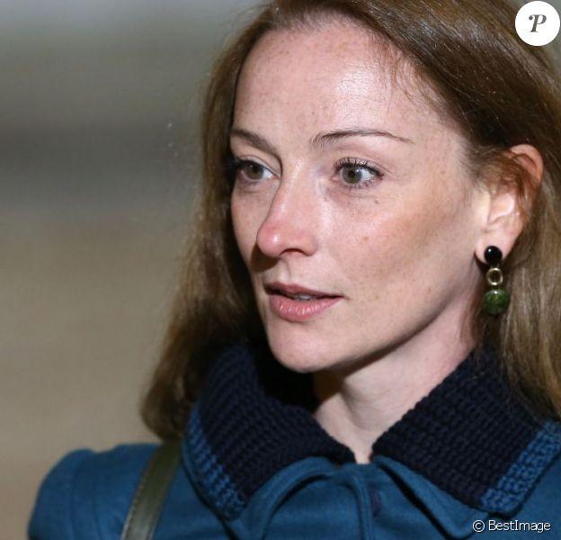 Florence Cassez, enfin libre, au Palais de l'Élysée avant un entretien privé avec le président François Hollande à Paris le 25 Janvier 2013.