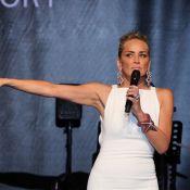 amfAR 2013 : Sharon Stone, parfaite, drôle et sexy fait s'envoler les enchères