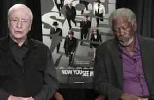 Morgan Freeman : En pleine interview, l'acteur pique du nez et s'endort