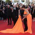 """Victoria Abril - Montee des marches du film """"The Immigrant"""" lors du 66eme festival du film de Cannes. Le 23 mai 2013  Redcarpet of """"The Immigrant"""" during the 66th Cannes Film Festival. On may 23rd 201324/05/2013 - Cannes"""