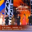 Le jury lors de la cérémonie de clôture et la remise des prix du Festival de Cannes le 26 mai 2013