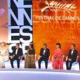 Les membres du jury lors de la cérémonie de clôture et la remise des prix du Festival de Cannes le 26 mai 2013