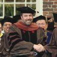 """Ben Affleck, fier et heureux, reçoit le doctorat d'honneur de l'Université de Brown à Rhode Island, le 25 mai 2013. L'acteur et réalisateur reçoit un doctorat d'honneur en beaux-arts pour ses travaux, notamment son dernier film """"Argo""""."""