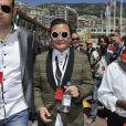 Denis Carre dans les travées du paddock du Grand Prix de Monaco le 26 mai 2013