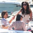 Tamara Ecclestone et son fiancé Jay Rutland à leur arrivée au Grand Prix de Monaco le 26 mai 2013