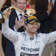 Nico Rosberg à leur arrivé au Grand Prix de Monaco le 26 mai 2013