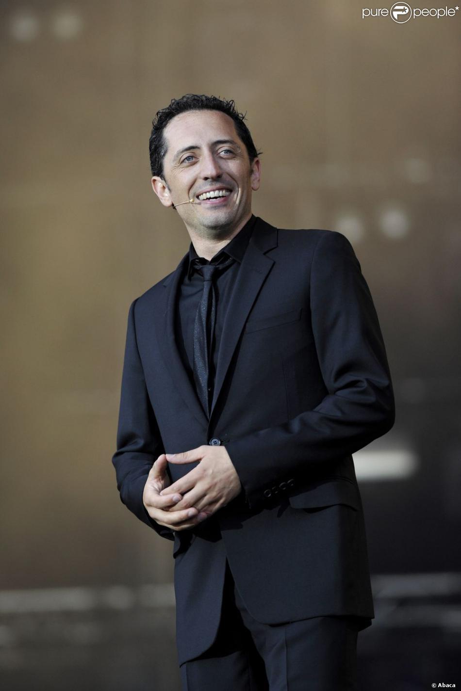 Gad Elmaleh à Carhaix, le 19 juillet 2008.