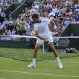 Benoît Paire, très énervé lors de son troisième tour à Wimbledon le 30 juin 2012