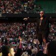 Timbaland lors du concert Sound of Change, à Londres, le samedi 1er juin 2013.