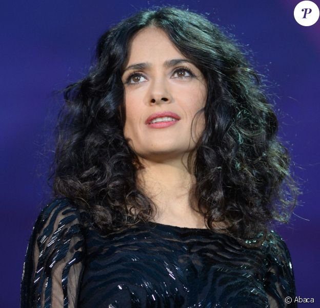 Salma Hayek lors du concert Sound of Change, à Londres, le samedi 1er juin 2013.