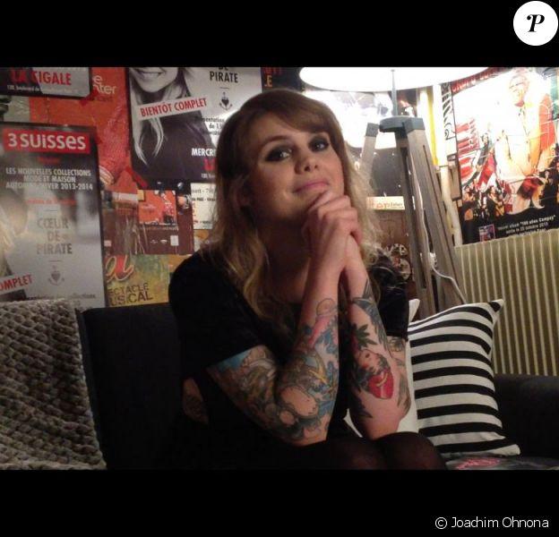 Coeur de Pirate en interview avec Purepeople, mai 2013.