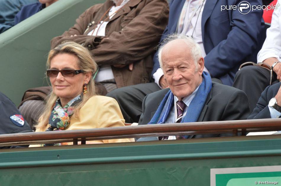 Jacques Chancel et son epouse Martine lors du 8e jour des.