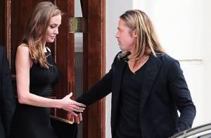 Angelina Jolie main dans la main avec Brad Pitt pour le show enflammé de Muse
