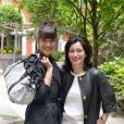 Mélanie Doutey et Marianne Romestain, présidente de Gerard Darel