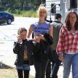 Laura Dern est sur le tournage de la série télévisée à sketchs Kroll Show à Los Angeles, le 4 juin 2013.