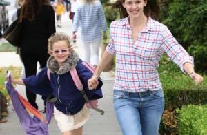 Jennifer Garner : Maman relax, elle fait la folle avec sa craquante Violet