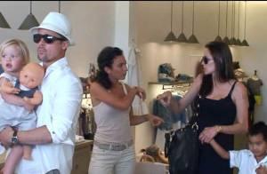 PHOTOS EXCLUSIVES : Découvrez la garde-robe des jumeaux Jolie-Pitt!