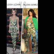 Match de look : Leigh Lezark vs Selena Gomez, l'imprimé exotique