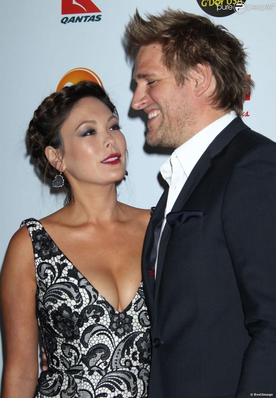 Lindsay Price et son mari Curtis Stone au Gala G'Day USA Los Angeles Black Tie 2013, le 12 janvier 2013.