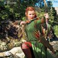 Le Hobbit : La Désolation de Smaug avec Evangeline Lilly