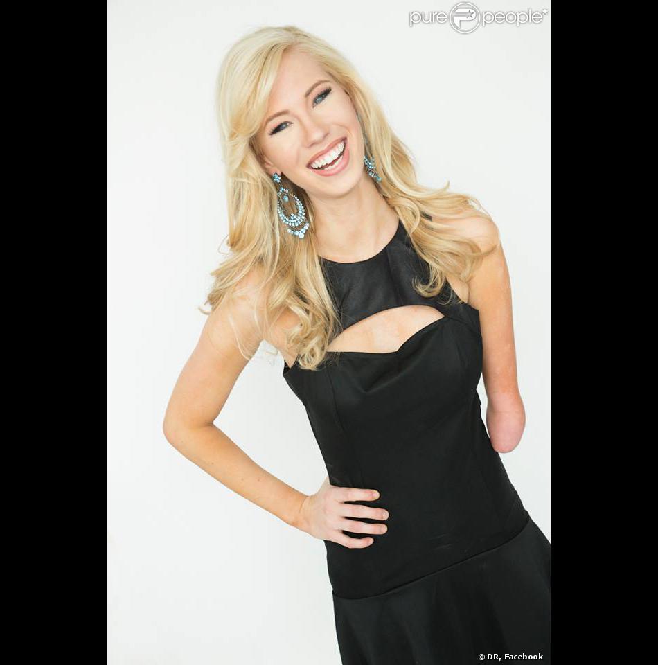 Photo de profil de la page Facebook de Nicole Kelly, actuelle Miss Iowa, et candidate pour le concours Miss America.