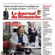Gérard Depardieu, en ''citoyen du monde'', fait la une du JDD du 16 juin 2013.