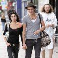 Amy Winehouse et son mari Blake Fielder-Civil