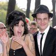 Amy Winehouse et son mari Blake
