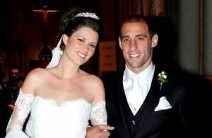 Pablo Zabaleta : Mariage romantique pour le footballeur et sa belle Christel