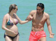 Falcao et Lorelei enceinte : Tendres vacances pour la future star de Monaco