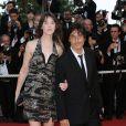 Yvan Attal et Charlotte Gainsbourg sur le tapis rouge du Festival de Cannes le 24 mai 2009