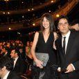 Charlotte Gainsbourg et Yvan Attal lors de la 35e cérémonie des César le 27 février 2010