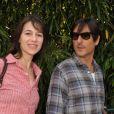 Charlotte Gainsbourg et Yvan Attal à Roland Garros le 5 juin 2009