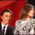 Yvan Attal et Charlotte Gainsbourg lors du Festival de Cannes 2009 pour la présentation d'Antichrist