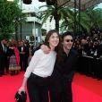 Charlotte Gainsbourg et Yvan Attal lors du Festival de Cannes 2001