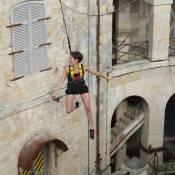 Fort Boyard : Alessandra Sublet se jette dans le vide et au coeur des insectes !