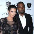 Kim Kardashian et Kanye West à Las Vegas, le 31 décembre 2012.