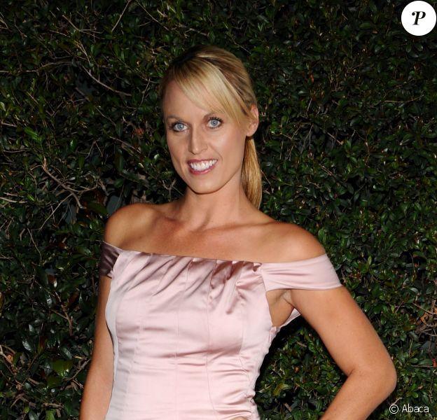 Amanda Beard lors de l'ouverture du SLS Hotel à Beverly Hills le 4 décembre 2008