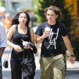 Prince Jackson et sa petite amie Remi Alfalah dans les rues de Los Angeles, le 24 juin 2013.