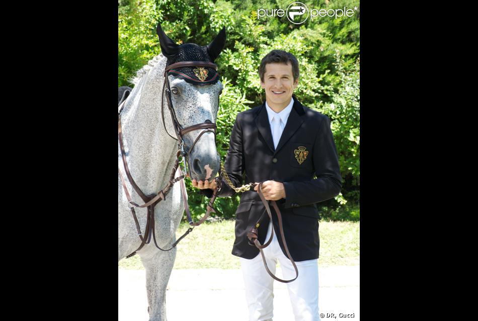 Guillaume Canet, acteur et cavalier, rejoint la team Gucci.