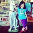 Katherine Heigl a posté sur son compte Instagram des photos de sa fille Naleigh, le 21 juin 2013.