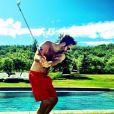 Katherine Heigl a posté sur son compte Instagram des photos de son mari Josh Kelley, le 22 juin 2013.