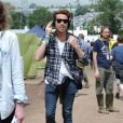 Nick Grimshaw au festival de Glastonbury, Worthy Farm, Angleterre, le 28 juin 2013.