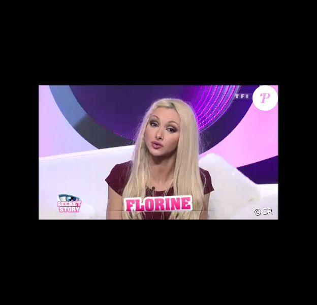 Florine dans Secret Story 7, lundi 1er juillet 2013 sur TF1