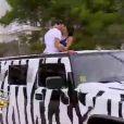 Derniers moments en limousine pour Thomas et Nabilla dans Les Anges de la télé-réalité 5 sur NRJ 12 le mardi 2 juillet 2013