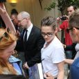 Kristen Stewart à l'Hôtel Costes, Paris, le 2 juillet 2013.