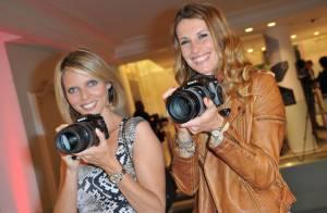 Sylvie Tellier et Sophie Thalmann : Les miss jouent les photographes d'un soir